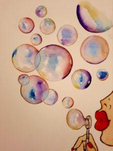 «Dans la bulle..»